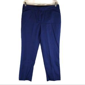 Rafaella Curvy Blue Straight Leg Pants